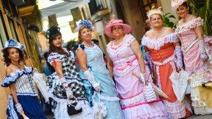 La Fira d'Indians a Torredembarra.