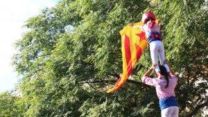 La manifestació de la Diada 2016 a Tarragona