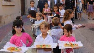 La processó del Pa Beneït és tradicional a Creixell