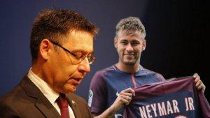Neymar i Bartomeu