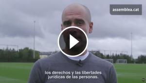 Pep Guardiola deixa un missatge per a la societat catalana.