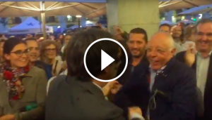Rebuda al president Carles Puigdemont