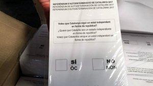 Sardenya ofereix a la Generalitat imprimir i guardar les paperetes del referèndum