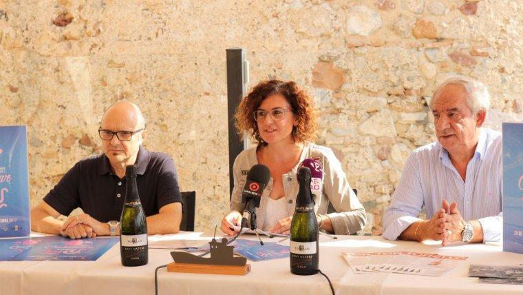 Dalmau, Pellicer i Moreno, en la presentació de les jornades.