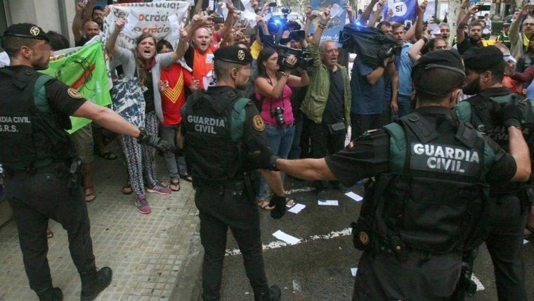 Interior compensarà amb 80 euros per dia als guàrdies civils comissionats forçosament a Catalunya