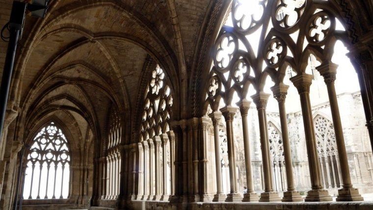 La intervenció obliga a a turar la restauració de la Seu Vella de Lleida