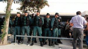 actuació de la guàrdia civil a mont-roig