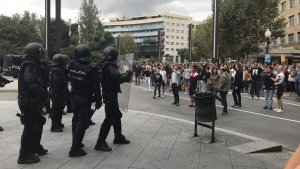 Agents de la policia espanyola.
