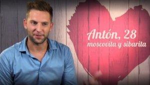 Antón, el concursant de 'First Dates'
