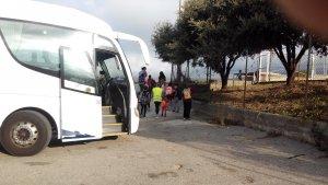 Aquest curs 2017-2018 la ruta del transport del Consell Comarcal de l'Alt Camp  ha estat adjudicada a l'empresa Plana.