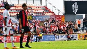 Bukaneros es va deixar sentir molt durant la disputa del CF Reus-Rayo de diumenge passat