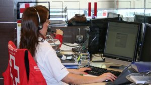 Centre d'atenció a les víctimes de la Creu Roja a Madrid