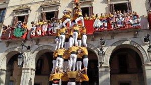Diada castellera de Vilanova i la Geltrú