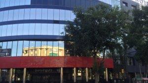 Edifici on es trobava la seu de l'empresa Sanantur