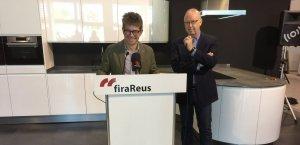 El regidor d'Urbanisme Marc Arza i Isaac Sanromà, president del Comité Executiu de fira Reus