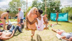 En este festival se puede ir desnudo.