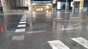 Gran tromba d'aigua caiguda a València