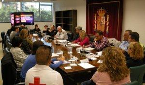 Imatge de la reunió organitzada per la subdelegació del govern espanyol a Tarragona.