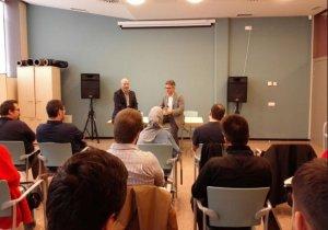 Imatge de la sessió inicial del curs sobre Big Data a Reus