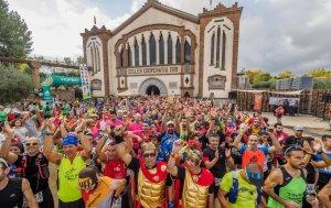 Imatge de la sortida de la IV edició de la Marató del Priorat.