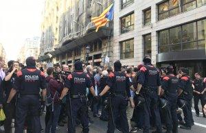 Imatge dels Mossos d'Esquadra a Catalunya.