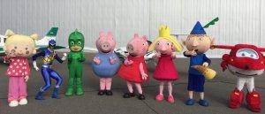 Imatge dels personatges que protagonitzaran els espectacles