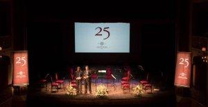 Imatge d'un dels actes de celebració dels 25 anys de la fundació.