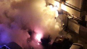 Incendi al carrer Gorgos de València