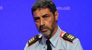 Josep Lluís Trapero, el Major dels Mossos, ha protagonitzat una de les escenes més virals de l'any.