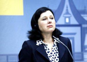 La comissària europea de Justícia, Vera Jourová