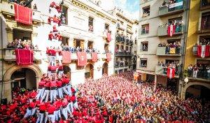 Les imatges de la diada castellera de Santa Úrsula 2016