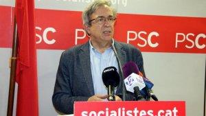 L'exconseller i exdiputat del PSC, Xavier Sabaté