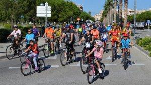 Més de 400 persones participen en la Diada de la Bicicleta de Vila-seca