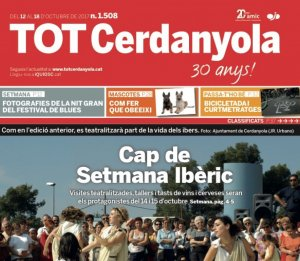 Portada del TOT Cerdanyola, número 1508