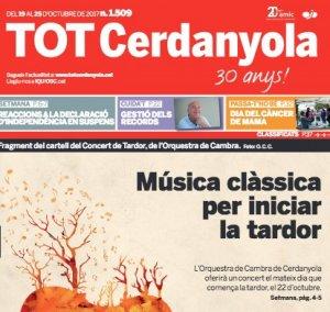 Portada del TOT Cerdanyola, número 1509