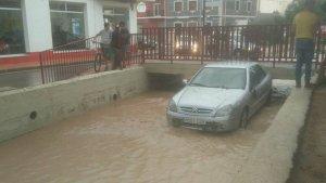 Riu format per les inundacions