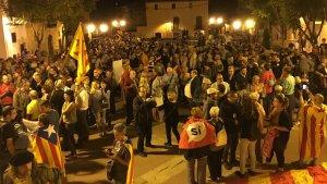 Torredembarra ha manifestat en diverses ocasions un suport multitudinari a la independència