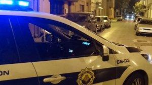 Una patrulla de la Policia Local de Castelló.