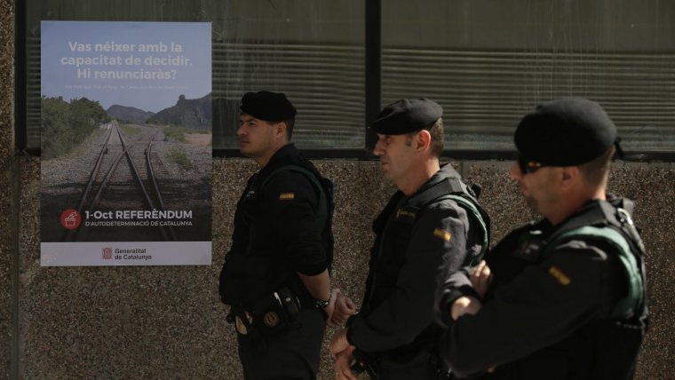 L'Associació Espanyola de Guàrdies Civils demana el relleu dels agents enviats a Catalunya