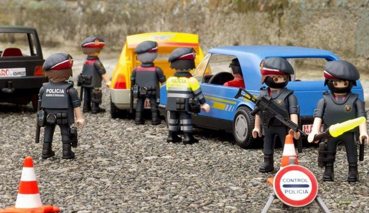Control d'agents d'ARRO i de Trànsit, de Playmobil.