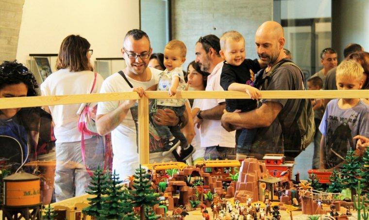 Clickània 2016. Festival de clicks de Playmobil de Montblanc
