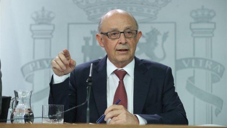 El ministre d'Hisenda, Cristobal Montoro