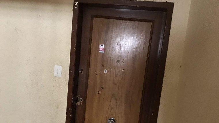 El pis on s'ha produït l'agressió.