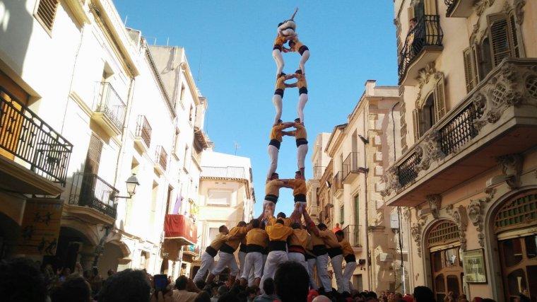 El primer 2 de 8 amb folre de l'any dels Bordegassos.