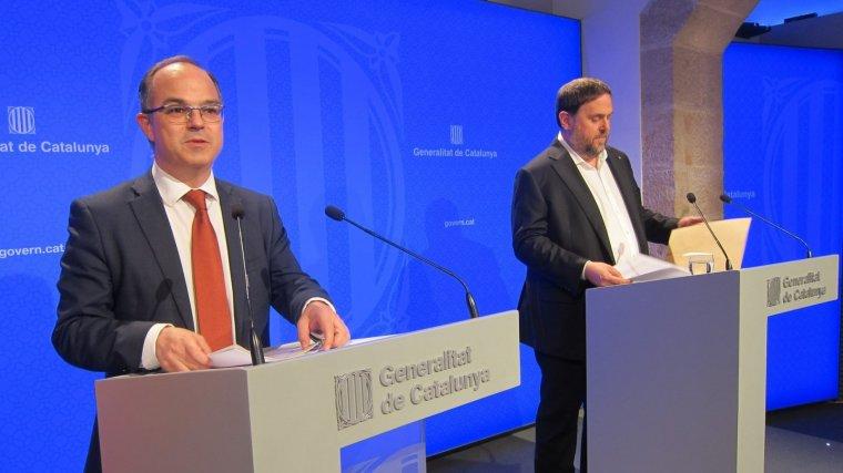 El conseller de Presidència, Jordi Trull, no ha aclarit quin és el termini per declarar la independència si no hi ha diàleg