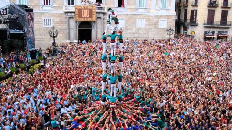 Els Castellers de la Sagrada Família podrien deixar de banda l'objectiu del 4 de 8.