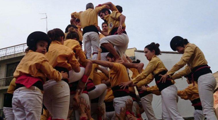 Els Castellers de Badalona actuaran a casa seva aquest diumenge, amb els Sagals i els Xics.