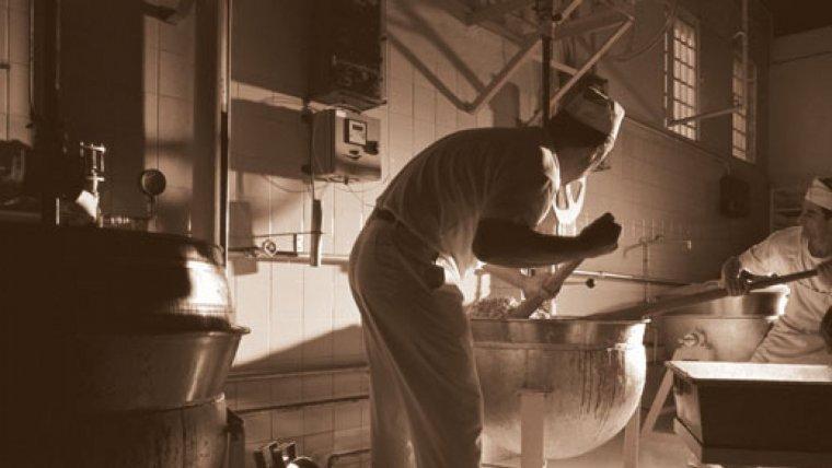 Imatge de la primera fàbrica de Sant Luis