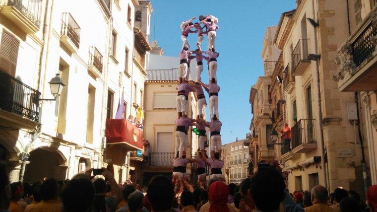 La catedral de la Colla Jove de Tarragona.