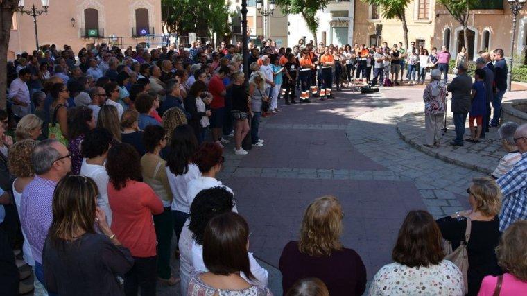 La concentració a Torredembarra aquest dilluns ha estat multitudinària